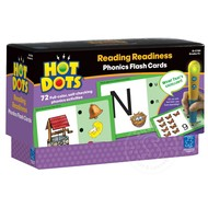 Educational Insights Hot Dots Phonics Flash Cards Set 1 Reading Readiness