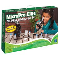 Educational Insights GeoSafari MicroPro Elite 98pc Microscope Set