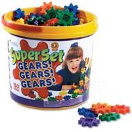 Learning Resources Super Set Gears! Gears! Gears! 150 Piece Set