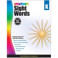 Spectrum Sight Words: Grade K