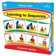 Carson Dellosa Learning to Sequence 4-Scene Set