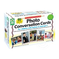 Key Education Photo Conversation Cards for Children with Autism & Asperger's