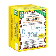 Key Education Numbers Textured Touch & Trace Cards