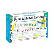 Key Education Write On/Wipe Off Print Alphabet Letters