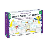 "Key Education Write On/Wipe Off Read & Write ""1st"" Words"