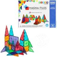 Magna-Tiles Magna-Tiles® Clear Colors 100 Piece Set