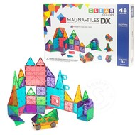 Magna-Tiles Magna-Tiles® Clear Colors 48 Piece Deluxe Set