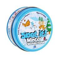 Blue Orange Games Spot It! Winter Wonderland Mini