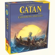 Mayfair Games Catan 5-6 Player Extension Explorers & Pirates  _