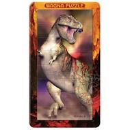 Magna 3D T-Rex Magnetic Lenticular Puzzle 32pcs