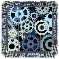 Magna 3D Gears Magnetic Lenticular Puzzle 16pcs