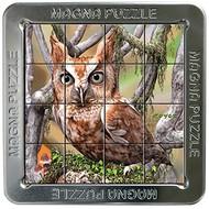 Magna 3D Owls Magnetic Lenticular Puzzle 16pcs