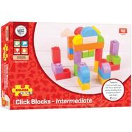 Bigjigs BigJigs Colored Click Blocks (40 pcs)