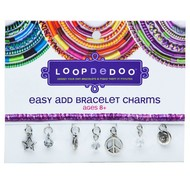 Ann Williams Loopdedoo Easy Add Bracelet Charms Peace & Happiness