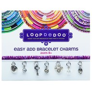 Ann Williams Loopdedoo Easy Add Bracelet Charms Key to My Heart