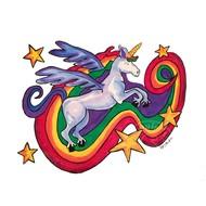 Artburn Pillow Case Painting Kit - Rainbow Unicorn
