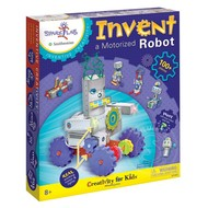 Creativity for Kids Spark!Lab Invent a Motorized Robot