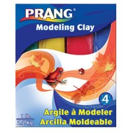 Prang Prang Modeling Clay - Red, Green, Blue & Yellow (1/4lb each)