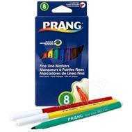 Prang Prang Fine Line Markers 8 Colour Set Washable