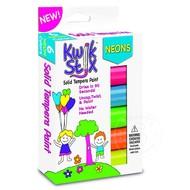 Kwik Stix Tempra Paint 6 Pack Neon