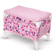 Corolle Corolle Mon Classique Floral Doll Bed & Changing Table_