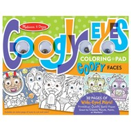 Melissa & Doug Melissa & Doug Googly Eyes Coloring Pad - Goofy Faces