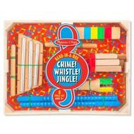 Melissa & Doug Melissa & Doug Band in a Box  Chime! Whistle! Jingle!