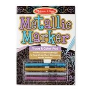 Melissa & Doug Melissa & Doug Metallic Marker Trace & Color Pad
