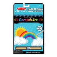 Melissa & Doug Melissa & Doug On the Go Scratch Art - Hidden Picture Favorite Things
