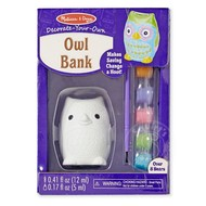 Melissa & Doug Melissa & Doug Created by Me! Owl Bank