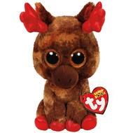 "TY TY Beanie Boos Maple Moose 6"" Reg Limited Edition"