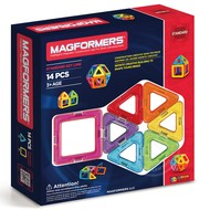 Magformers Magformers Standard Magnetic Building Set 14pcs