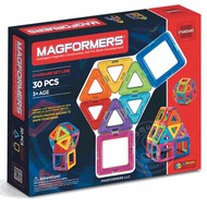 Magformers Magformers Standard Magnetic Building Set 30pcs