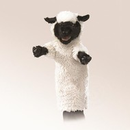 Folkmanis Folkmanis Black Faced Sheep Stage Puppet RETIRED