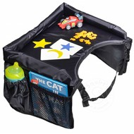 Snack and Play Travel Tray Black