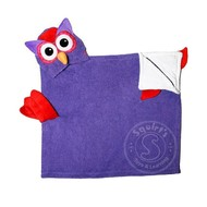 Zoocchini Olive the Owl Toddler Hooded Towel