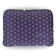 Yumbox YumBox Poche Insulated Sleeve - Navy with Bird Print