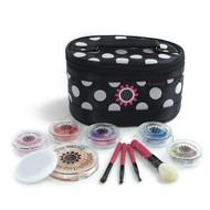 MiniPlay MakeUp MiniPlay Deluxe Kit (Black) Medium Powder Compact