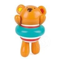 Hape Hape Swimmer Teddy Wind-Up Toy
