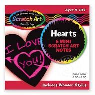 Melissa & Doug Melissa & Doug Scratch Art Mini Notes - Hearts _