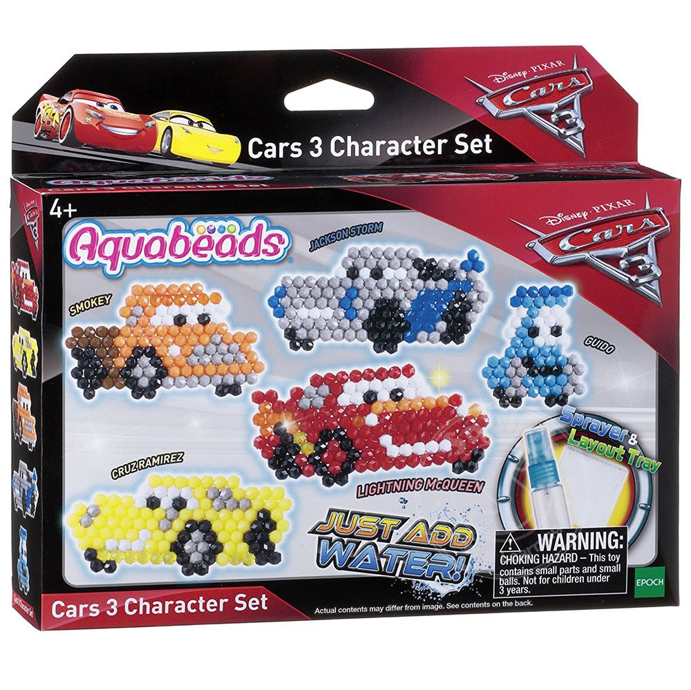 Aquabeads Disney-Pixar Cars 3 Character Set - Squirt\'s Toys ...