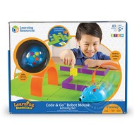 Learning Resources STEM Code & Go Robot Mouse Coding Activity Set