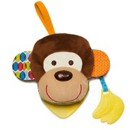 SkipHop SkipHop Bandana Buddies Puppet Activity Book Monkey