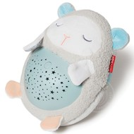 SkipHop SkipHop Moonlight & Melodies Hug Me Projection Soother - Lamb