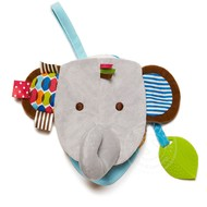 SkipHop SkipHop Bandana Buddies Puppet Activity Book Elephant