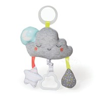 SkipHop SkipHop Silver Lining Cloud Jitter Stroller Toy