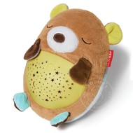 SkipHop SkipHop Moonlight & Melodies Hug Me Projection Soother - Bear