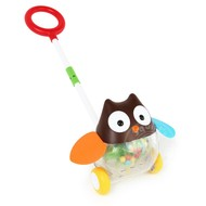 SkipHop SkipHop Explore & More Rolling Owl Push Toy