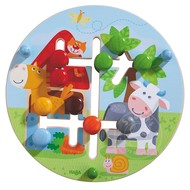Haba Haba Motor Skills Board On the Farm
