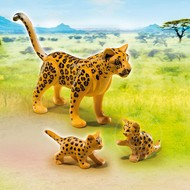 Playmobil Playmobil Leopard with Cubs RETIRED